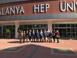 Alanya HEP University was visited by special guests from Finland