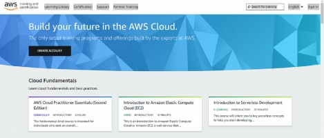 Developing cloud-based software on Amazon Web Services (AWS) environment